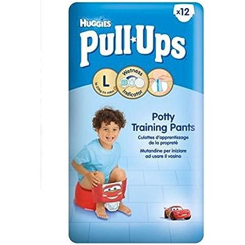 Huggies Pull-UpsDisney-Pixar Cars Dimensioni Bambino Di 6 Vasino Formazione Pantaloni - 1 X 12 Pantaloni (Confezione da