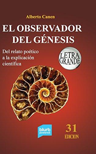 Portada del libro 31ed El observador del Génesis. Del relato poético a la explicación científica