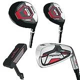 Wilson ProStaff HDX Golf Komplettset Eisen 5-SW, Hybrid, Holz, Putter