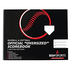 BSN Baseball/Softball Scorebook (Oversized)