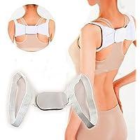 RedCrest (TM) la faja Postura Corrector de Postura Cinturón Ajustable Soporte de la espalda cuerpo de corrección de postura correcta posición Cool