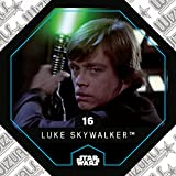 Rewe STAR WARS Cosmic Shells Normal 16 Luke Skywalker + WIZUALS STICKER