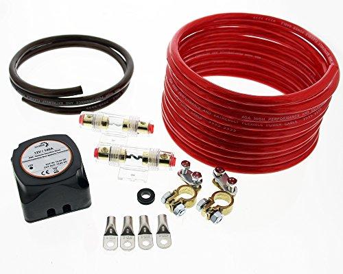 The Drive Set - Vollautomatisches Bidirektionales BSR Trennrelais (Gel- AGM- Blei-Batterien) von The Drive