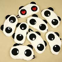 Cute Panda Auge abdecken Schlafmaske (2 Stück für Sie und Ihn) preisvergleich bei billige-tabletten.eu