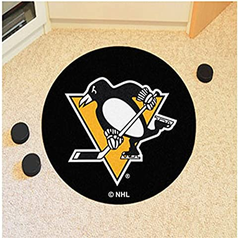 NHL - Pittsburgh Penguins Puck Mat 27 Inch Diameter Floor Mat