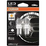 Osram 1557YE-02B LED  Éclairage Intérieur, P21/5W, Ambre, Lot de 2