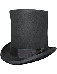 Gents LINCOLN High Top Hat - 100% Wool - Satin Lined
