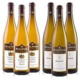 Peter Mertes Weinpaket Auslese Pfalz (3x0,75L) + Flonheimer Adelberg, Spätlese (3x0,75L)
