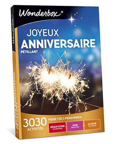 WONDERBOX - Coffret cadeau - JOYEUX ANNIVERSAIRE -...