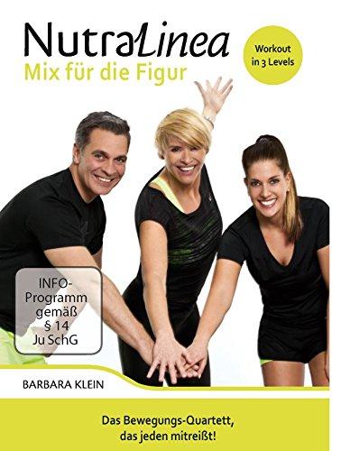 """Preisvergleich Produktbild NutraLinea® DVD """"Mix für die Figur"""" mit Barbara Klein & Andy Sasse"""