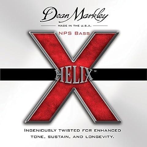 Dean Markley Helix NPS DM-2612B-MED 50-128 Bassgitarrensaiten, Medium (5 Stück)