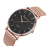 Metal Casual watches Wos GENEVA Wos Classic Watch Bracelet Watches