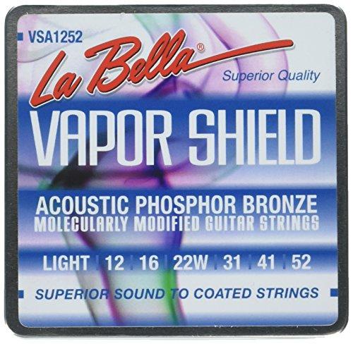 por Shield Akustik Gitarre Saiten, Light 12-52 ()