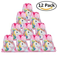 Christ For Givek Unicorn Party Supplies Pack, Comes with Disposable Tableware and Birthday Party Decoration Set All In One Value Kit Includes 8 Varieties 38 Pieces, Perfect for Kids Unicorn Birthday Party Party Decoration Set