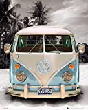 Vw Transporter Poster Love California Camper