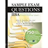 Sample Exam Questions: IIBA Certified Business Analysis Professional (CBAP) by John A. Estrella (2009-04-14)