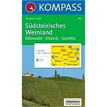 Südsteirisches Weinland: Wander- und Radtourenkarte. GPS-genau. 1:25.000