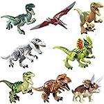8x Jurassic Welt Dinosaurier Brick Bl...