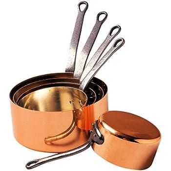 Jml Copper Stone Pans Saucepans 6 Pcs Amazon Co Uk