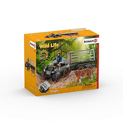 Schleich 42351 - Quad mit Anhänger und Ranger - Spielzeug