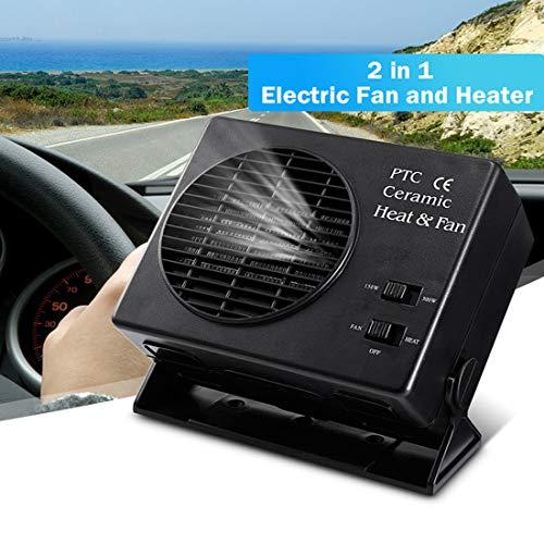 Preisvergleich Produktbild DONGMAO 150 Watt 300 Watt Keramik Auto Auto LKW Heizlüfter Tragbare Fenster Defroster 12 V Fahrzeug Kühl Kühler Heizung Fan