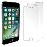 iPhone 7 Plus Screen Protector [2 Pack] iSOUL iPhone 7 Plus Tempered Glass [3D Touch Compatible 0.2mm Thickness / 9H Hardness Rating]