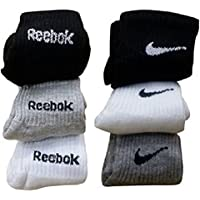 DIGITAL SHOPEE Unisex Cotton Ankle Socks (Pack of 3)-Assorted Colours