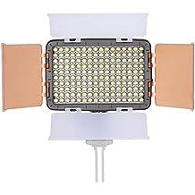 Neewer® OE-160 160 Stücke 5600K LED mit Scheune auf Kamera Video Beleuchtung Licht für Canon, Nikon, Pentax, Panasonic,Sony, Samsung, Olympus und Andere Digital SLR Kameras.