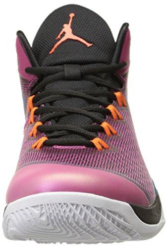 Nike - Mode - jordan super.fly 2 Black/Fusion Pink/Tropical Teal/Electric Orange