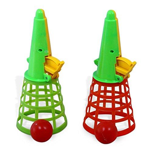 12 x HC-Handel 910642 Fangbecher Kunststoff 19 cm Fang den Ball verschiedene Farben