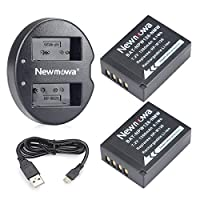 NP-W126S/NP-W126 Newmowa Replacement Battery (2-Pack) and Dual USB Charger for Fujifilm NP W126S/NP W126 Fujifilm FinePix X-Pro1 X-Pro2 HS35EXR XR X-A1 X-A2 X-E1 X-E2 X-M1 X-T1 X-T2 X-T10 X-T20 X-H1
