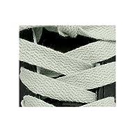 High Quality 100% Cotton Flat Shoelaces 125cm (white)
