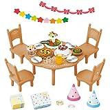 Sylvanian Families - 2932 - Set de Surprise Partie - Poupées et Accessoires - Sylvanian