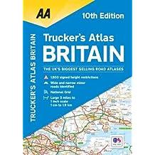 AA Truckers Atlas Britain (AA Road Atlas) (Aa Road Atlas Britain)