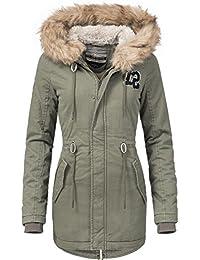Sublevel Damen Mantel Wintermantel 44386A 2 Farben S-XL