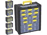 Prosperplast Multicase NS601 Werkzeugkasten Werkzeugkoffer Werkzeugkiste Sortimentskasten Schubladen Koffer