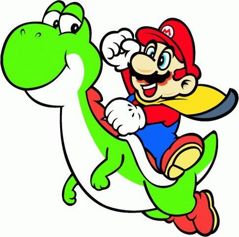 Super Mario Cartoon Hochwertigen Auto-Autoaufkleber 12 x 12 cm