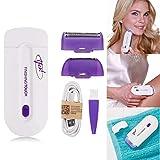 Transer, Yes-Finishing-Touch-Epilierer, Haarentferner mit Sensorlicht zur schmerzfreien Haarentfernung