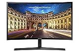 Samsung C27F398F 68,58 cm (27 Zoll) Curved Monitor (HDMI, D-Sub, 4 ms Reaktionszeit, 60 Hz Wiederholungsfrequenz, 1920 x 1080 Pixel) schwarz