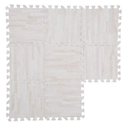 Tappeto a puzzle tappeto da fitness a puzzle in gommapiuma eva,imitazione ,30 * 30cm,9pcs