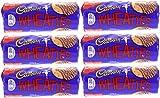 x6 Cadbury Wheaties Milk Chocolate Biscuits 400g