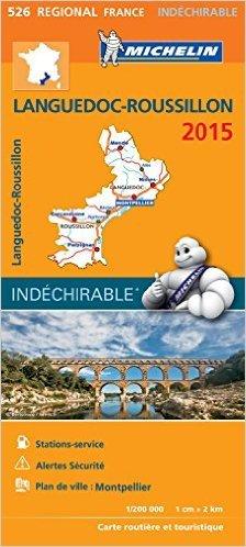 Languedoc-Roussillon : 1/200 000 de Michelin ( 16 janvier 2015 ) par Michelin