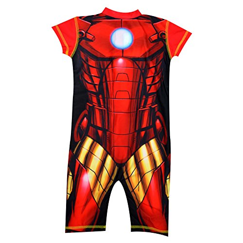 Charakter Ironman Badeanzug 1-2Jahre Schwimmbad (Ironman-uhr Für Kinder)