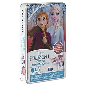 Cardinal Games CGI Domino Frozen2 Tin GML, 6053258, Multicolor