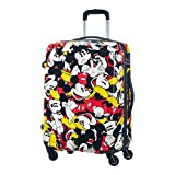 Samsonite American Tourister Disney Legends Spinner Valigia, 65 cm, 52 litri, Mickey Comics