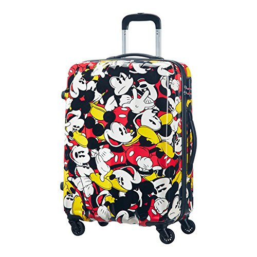 Samsonite American Tourister - Disney Legends Spinner 65 Alfatwist, Koffer, 65 cm, 52 L, Mickey Comics