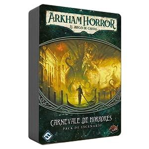 Fantasy Flight Games- Halloween Arkham carnevale de horrores-español, Color (Edge Entertainment FFIAHC10)