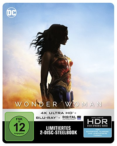 Wonder Woman (Steelbook) - Ultra HD Blu-ray [4k + Blu-ray Disc]