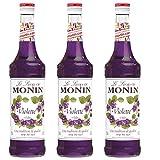 Monin Sirup Veilchen, 0,7L 3er Pack