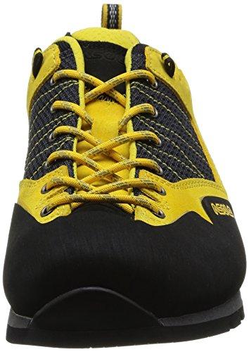 Asolo Magix Mm, Chaussures de randonnée basses homme Jaune (Nero/Giallo)